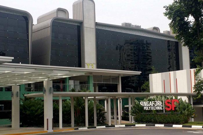 Singapore Polytechnic Teaching Block T1 to T10