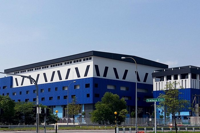 400kV West Jurong Island Substation (WJISS) @ Tembusu Ave